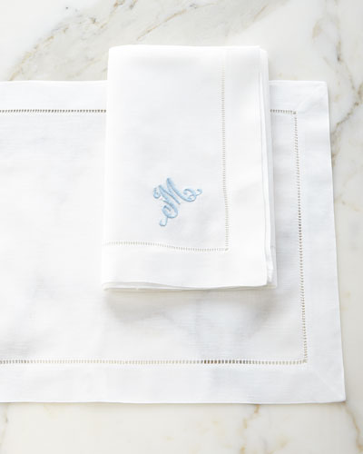 Hemstitch Table Linens