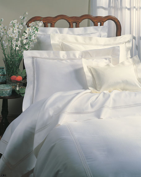 Two Standard 590TC Pillowcases