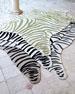 Maya Zebra Indoor/Outdoor Rug, 8' x 10'