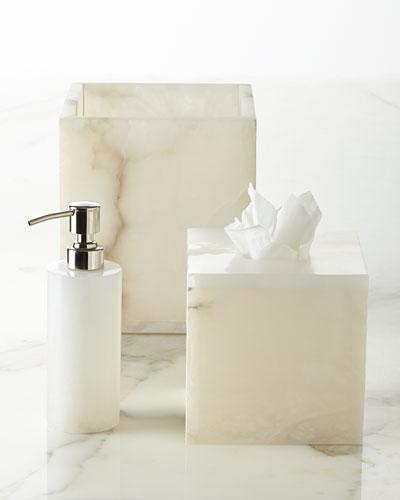 Alabaster Vanity Accessories