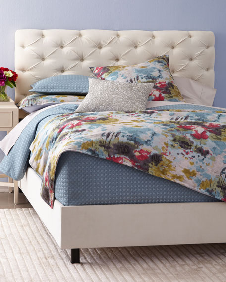 Valentine Tufted Queen Bed