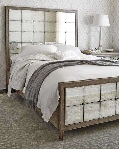 Bernhardt Marisala Mirrored King Bed
