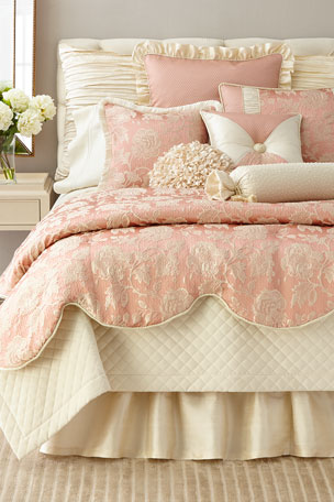 Austin Horn Collection Elite King Quilted Velvet Coverlet Elite Queen Quilted Velvet Coverlet