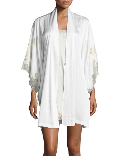 Chantilly Lace-Trim Nightgown and Matching Items