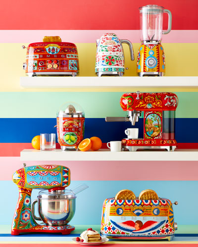 Dolce Gabbana x SMEG Sicily Is My Love Tea Kettle  and Matching Items