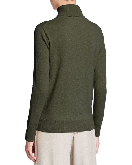 Image 2 of 2: Lafayette 148 New York Cashmere Turtleneck Sweater