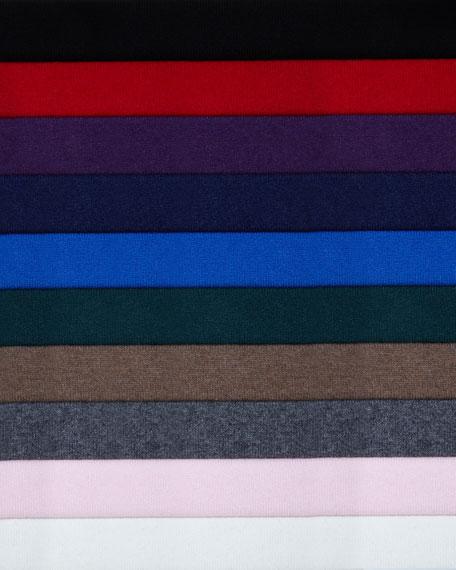 Cashmere Long-Sleeve Turtleneck Dress
