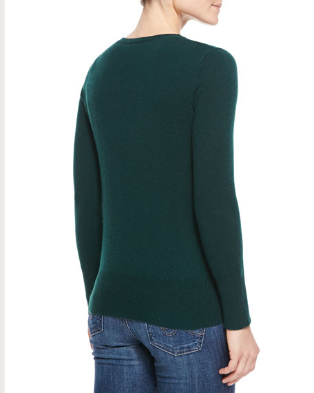 Cashmere Crewneck Sweater, Women's