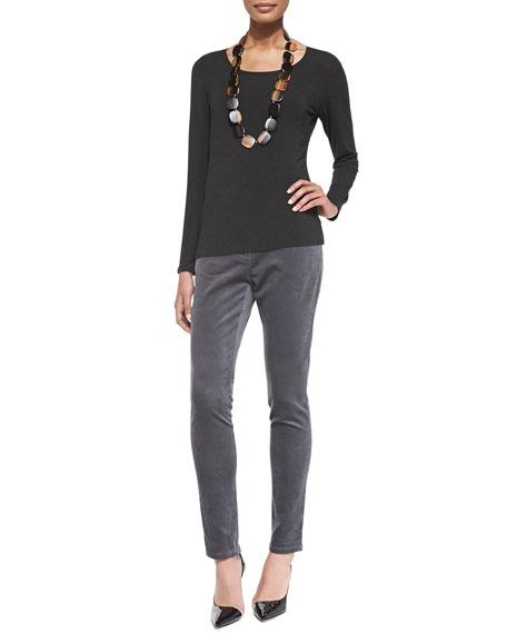 Eileen Fisher Corduroy Skinny Stretch Jeans