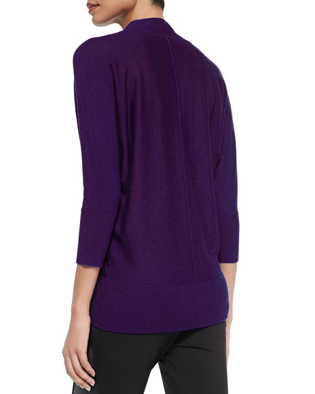 V-Neck Relaxed Knit Sweater