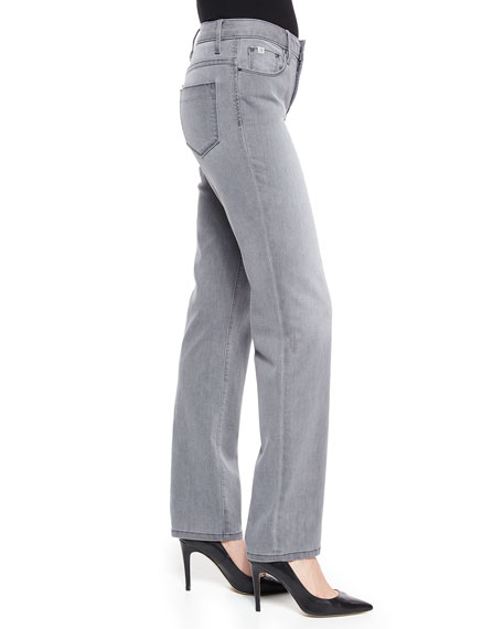 Madison Straight-Leg Twill Pants