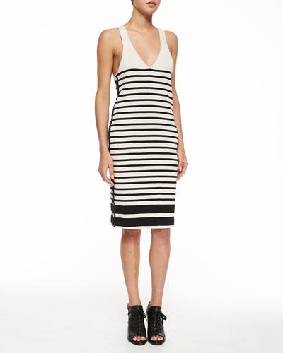 Avila Striped Racerback Dress