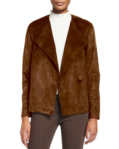 Venizka Short Suede Jacket