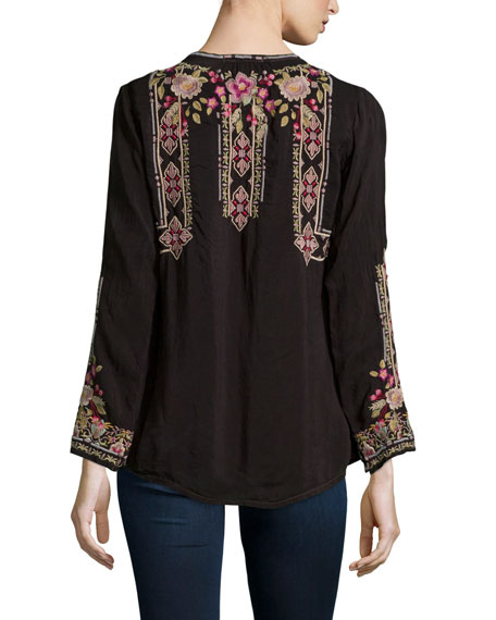 Fabio Embroidered Blouse