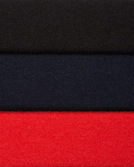 Jewel-Neck Asymmetric Tunic