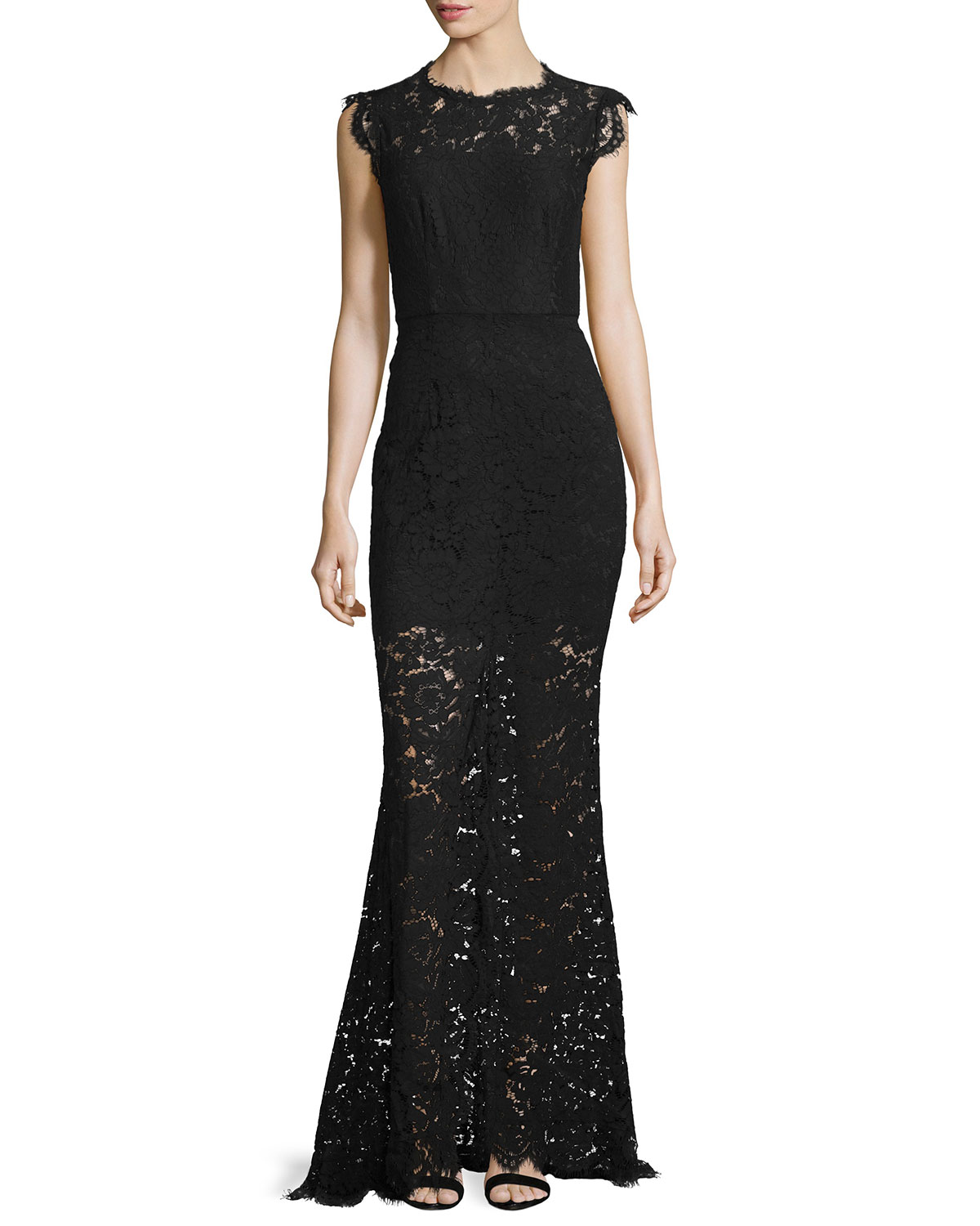 e3d21117457 Rachel Zoe Estelle Cutout Lace Maxi Dress