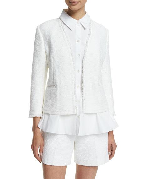 Theory Lindrayia R Spring Tweed Jacket