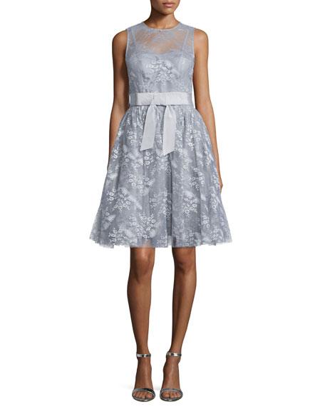 Libby Sleeveless Fit Flare Dress