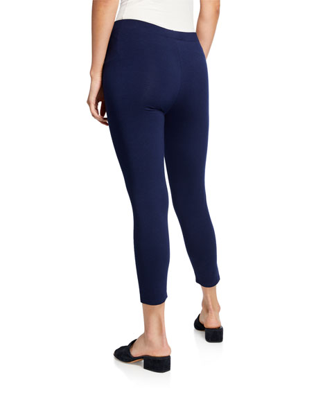 Stretch-Jersey Leggings, Plus Size