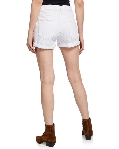 Le Cutoff Rolled-Hem Shorts