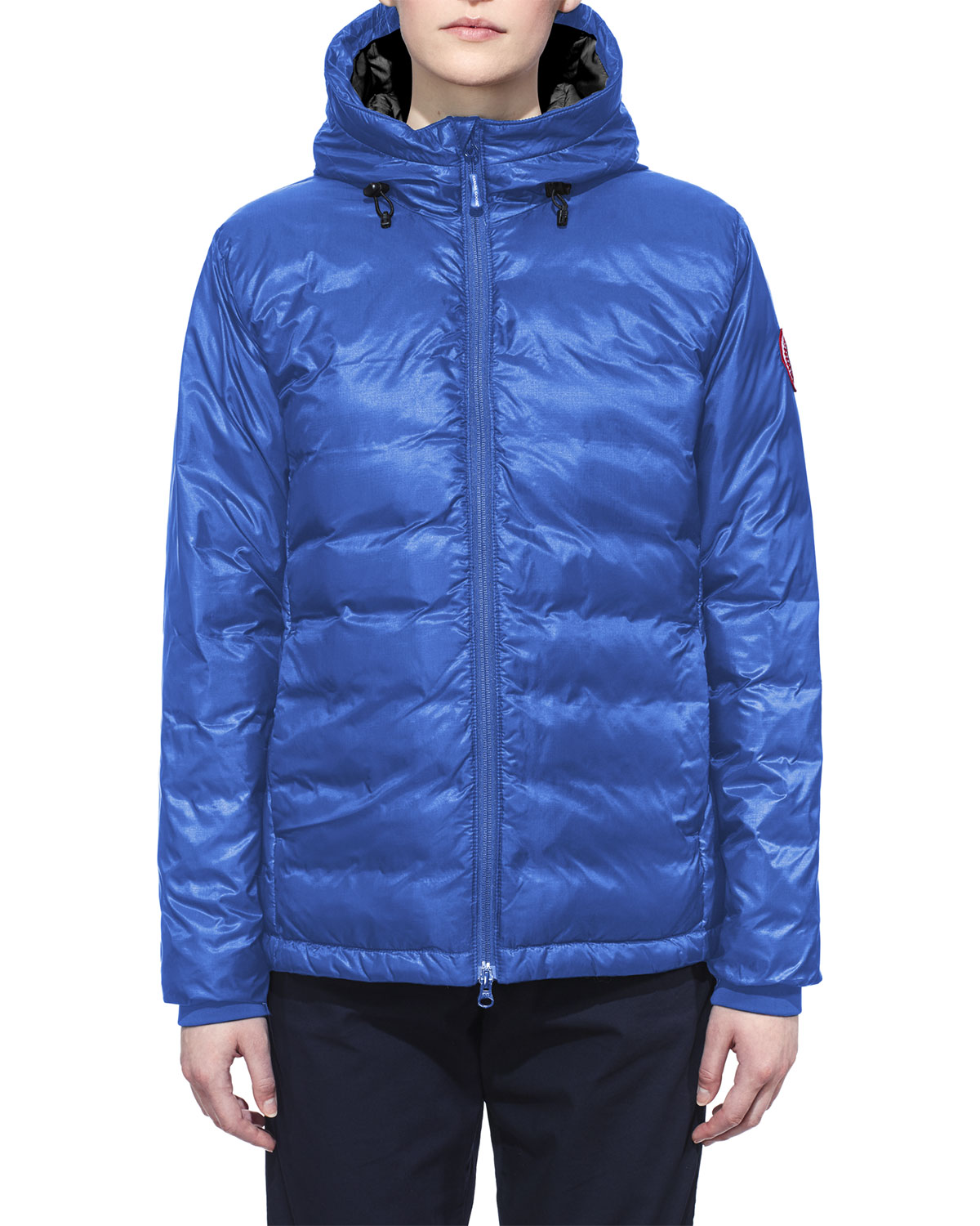 7c288014f82 Camp Hooded Packable Puffer Jacket, Royal Blue
