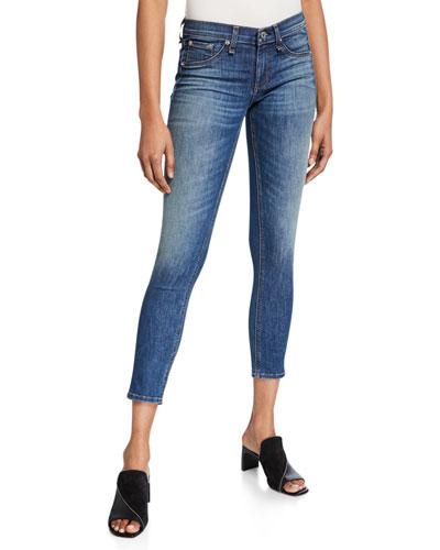 Skinny Capri Denim Jeans  Rae