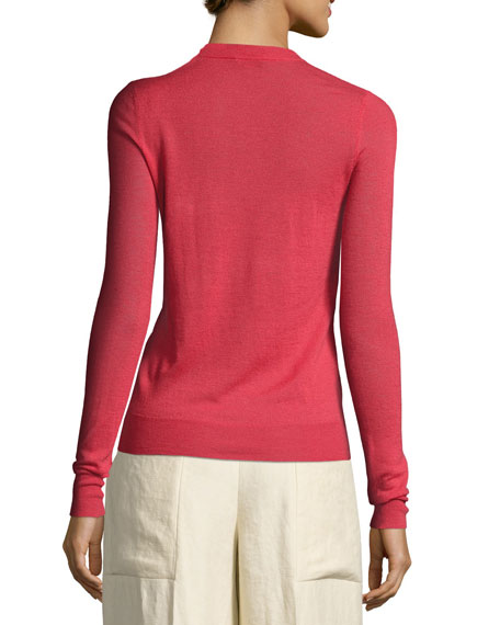 Lightweight Crewneck Cashmere Sweater
