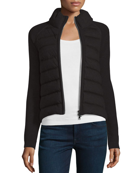 Maglione Quilted Tricot Cardigan Jacket