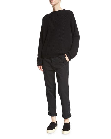 Breton-Stripe Cashmere Hoodie, Multicolor Cheap