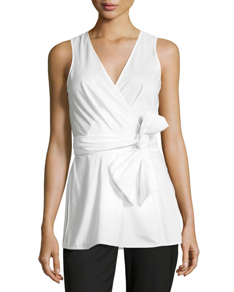 Diane von Furstenberg Cigarette Pants & Wrap Top