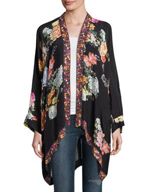 06e0e82f3 Johnny Was Jazzy Kimono-Style Printed Jacket