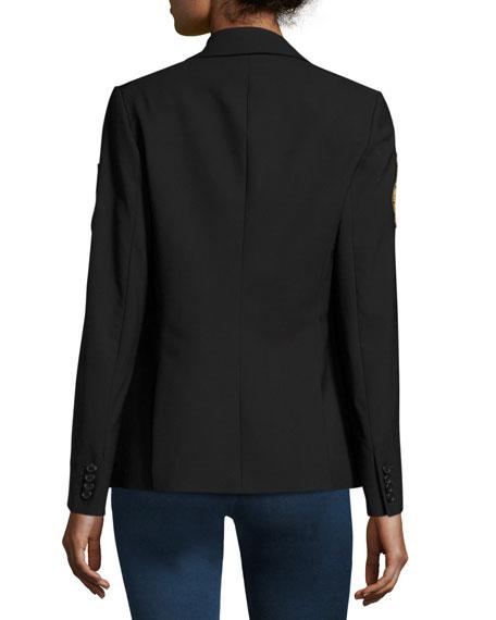 Classic Patch Jacket, Black