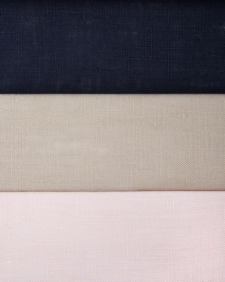 Linen Button-Front Shell
