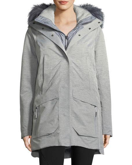 The North Face Zip-Front Hooded Gore-Tex?? Parka Jacket