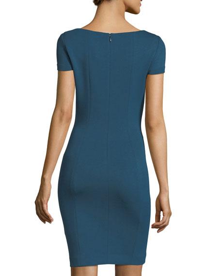 Bernice Short-Sleeve Sheath Dress