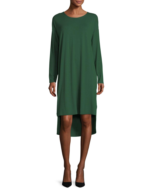 Medallion lace short sleeve shift dress plus size