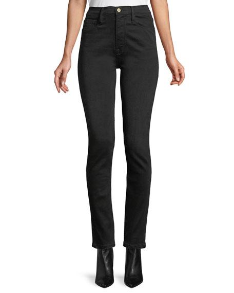 FRAME Ali High-Rise Skinny Cigarette Jeans