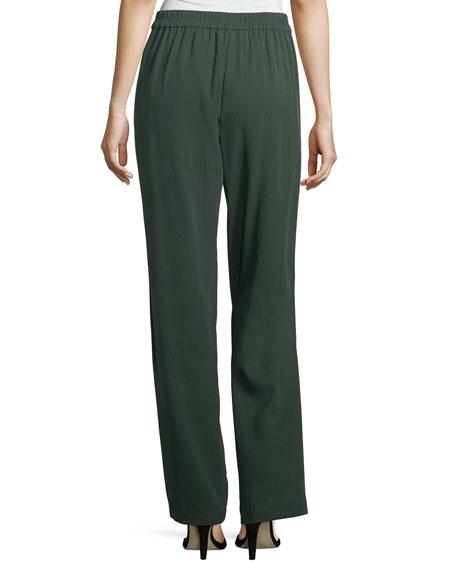 Woven Tencel® Grain Pants, Petite