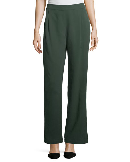 Eileen Fisher Woven Tencel® Grain Pants, Plus Size