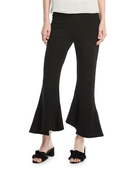 Alba Flare-Leg Cropped Pants