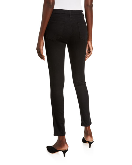 Image 2 of 3: Veronica Beard Jeans Debbie High-Rise Skinny Jeans