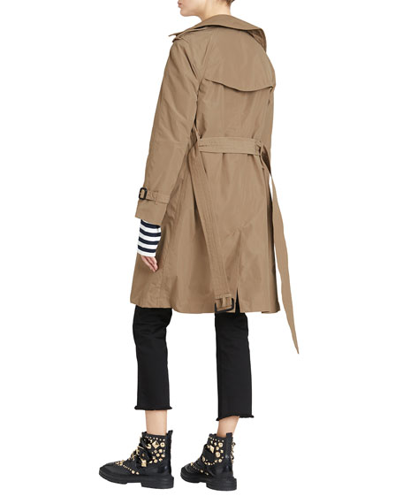 Amberford Packaway Rain Trench Coat