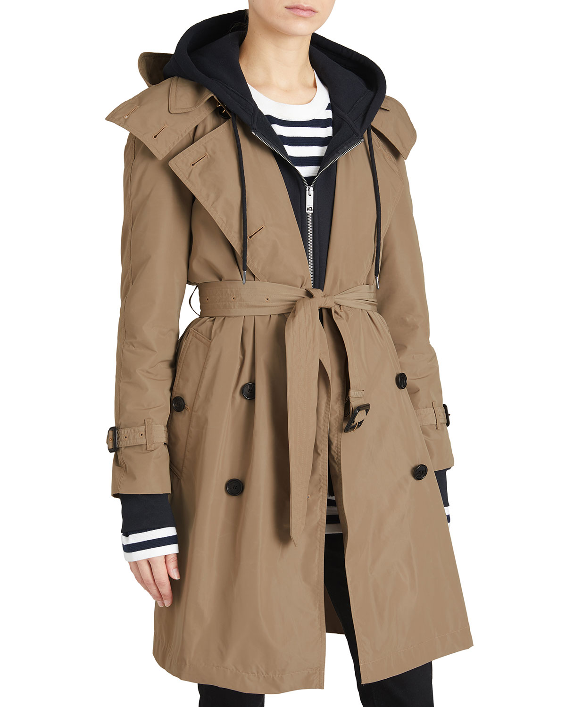 burberry amberford packaway rain trench coat neiman marcus