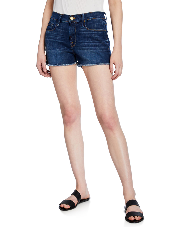 3570c3aee FRAME Le Cutoff Denim Shorts | Neiman Marcus