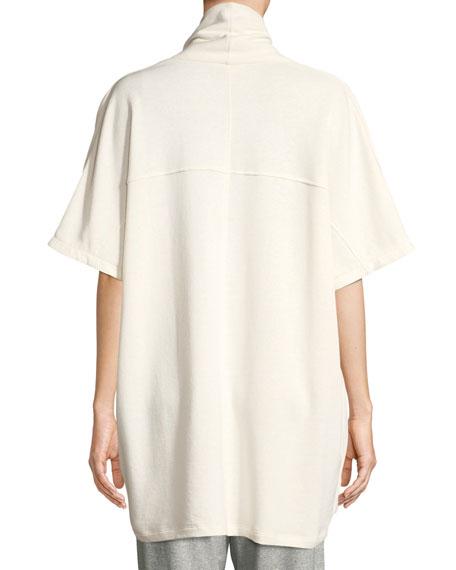 Eileen Fisher Side-Tie Kimono Wrap Jacket, Plus Size