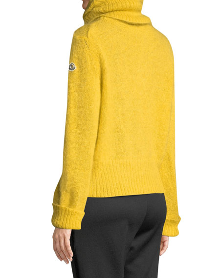 Moncler Genius Ciclista Mohair Pullover Turtleneck Sweater
