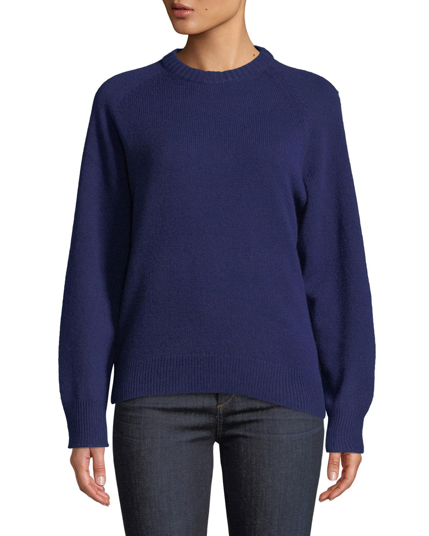 8db2794ea8 Theory Crewneck Cashmere Pullover Sweatshirt