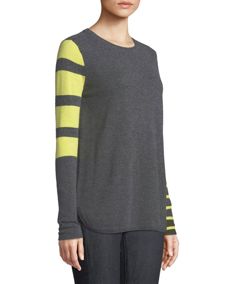 Classic Pop Striped Cashmere Sweater
