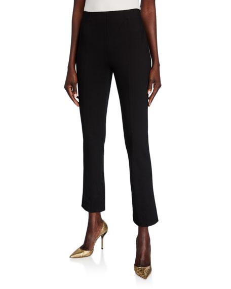 Misook Ponte Slim-Leg Pants