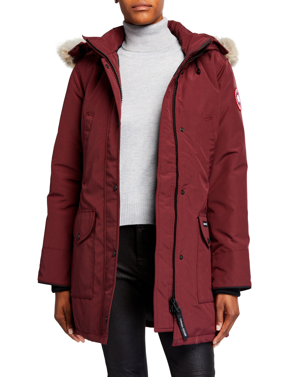 canada goose redwood color